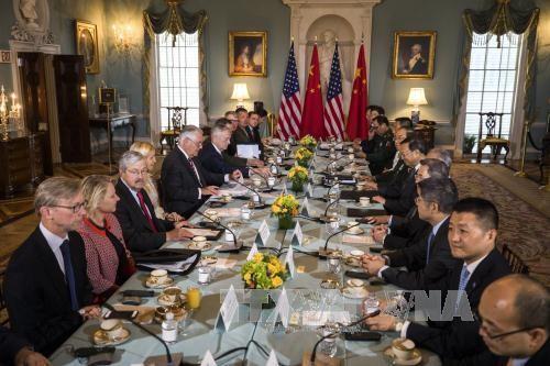Китай и США начали диалог по безопасности и дипломатии  - ảnh 1