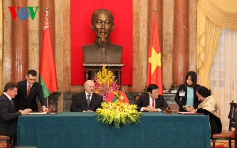 Вьетнам и Беларусь сделали совместное заявление  - ảnh 1