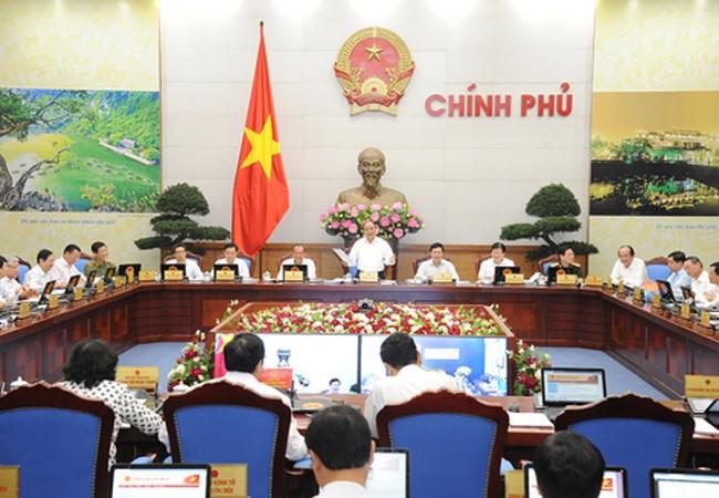 В Ханое проходит очередное июньское заседание правительства Вьетнама - ảnh 1