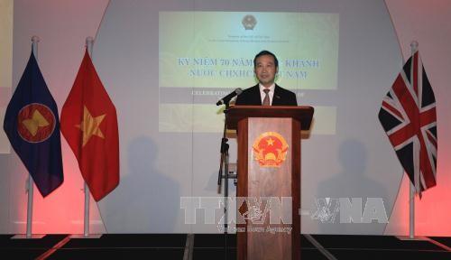 Великобритания желает активизировать торговое сотрудничество с Вьетнамом после ее выхода из ЕС - ảnh 1