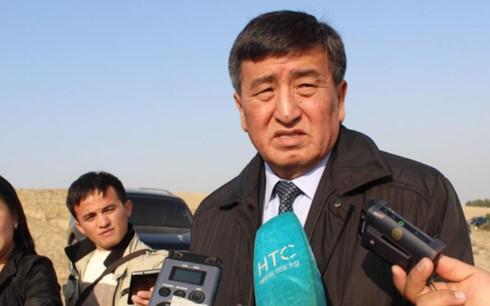 Кандидат от правящей партии Жээнбеков лидирует на выборах президента Киргизии - ảnh 1