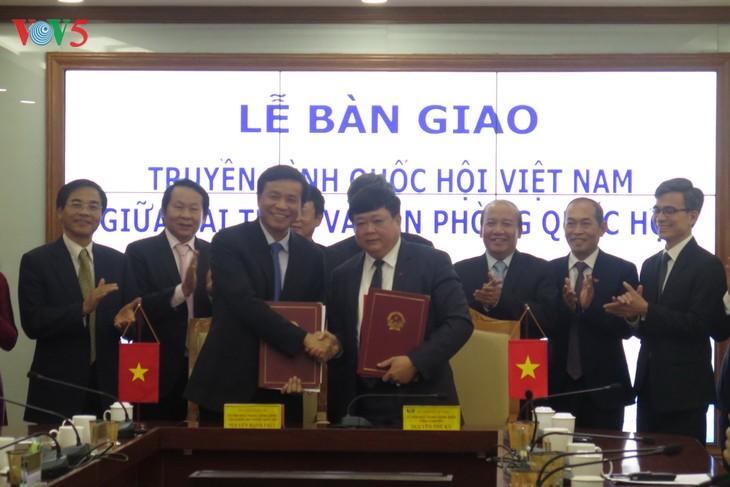 Передан парламентский телеканал «Голос Вьетнама» канцелярии Нацсобрания СРВ - ảnh 1