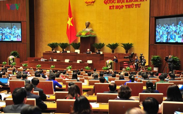 В Ханое открылась 4-я сессия Национального собрания СРВ 14-го созыва - ảnh 1