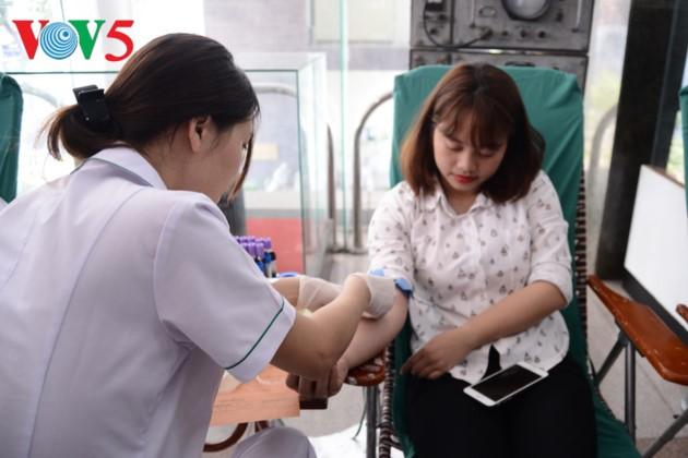 О волонтерском донорском движении во Вьетнаме - ảnh 1
