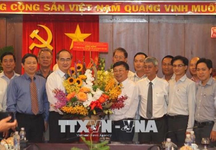 Во Вьетнаме отмечается День вьетнамской революционной прессы - ảnh 1