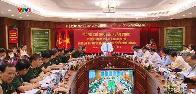 Премьер СРВ Нгуен Суан Фук провел рабочую встречу с руководителями корпорации «Viettel»  - ảnh 1