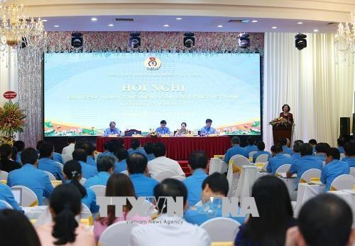 В Ханое прошла 12-я конференция Исполкома Конфедерации труда Вьетнама - ảnh 1