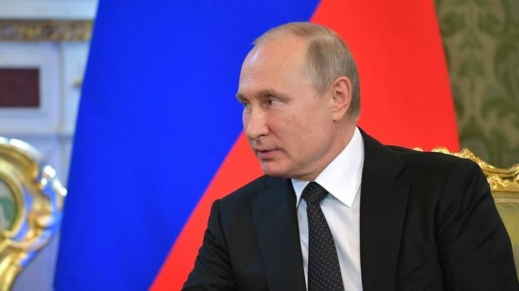 Путин встретится с главой МОК на финале ЧМ-2018 - ảnh 1