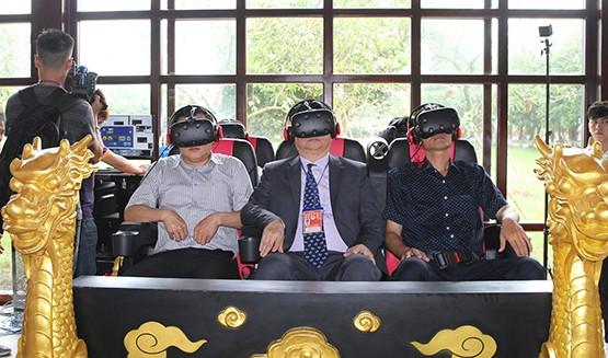 """В поисках """"Потерянного императорского дворца"""" через технологии виртуальной реальности - ảnh 1"""