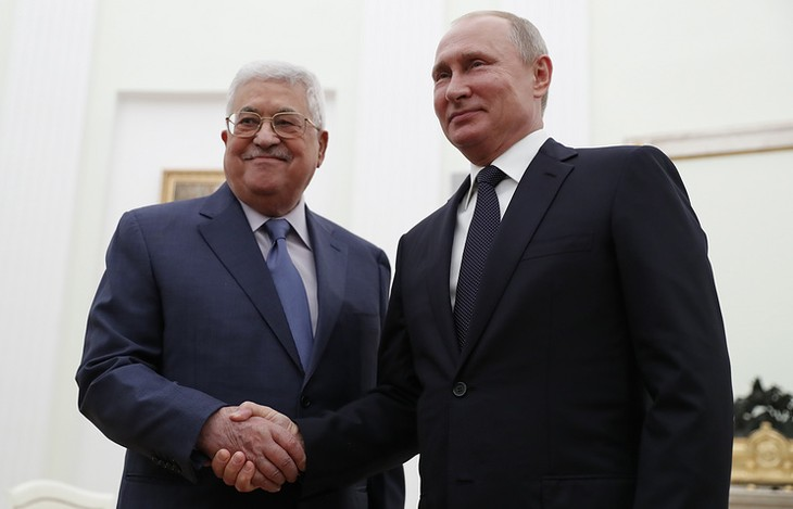 Путин и Аббас обсудили ситуацию на Ближнем Востоке - ảnh 1