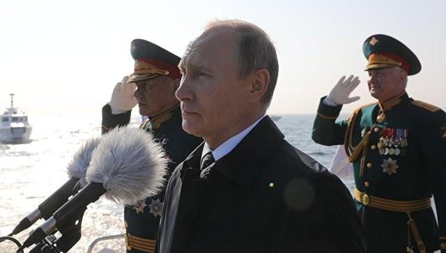 Путин: ВМФ получит 26 новых кораблей и судов в 2018 году - ảnh 1