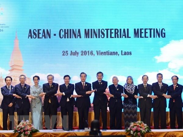 АСЕАН и Китай согласовали единственный документ, касающийся переговоров по СОС - ảnh 1