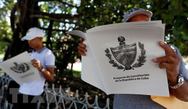 Куба опубликовала процедуру сбора мнений населения по проекту новой конституции  - ảnh 1