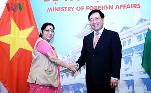 В Ханое прошло 16-е заседание смешанной вьетнамо-индийской комиссии  - ảnh 1