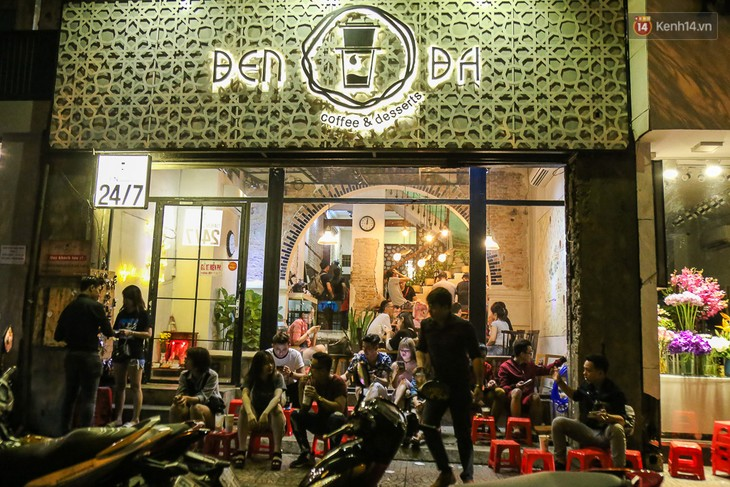 Полуночная кофейня в Сайгоне - ảnh 1