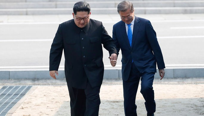 Лидеры КНДР и Республики Корея продолжили переговоры в Пхеньяне - ảnh 1