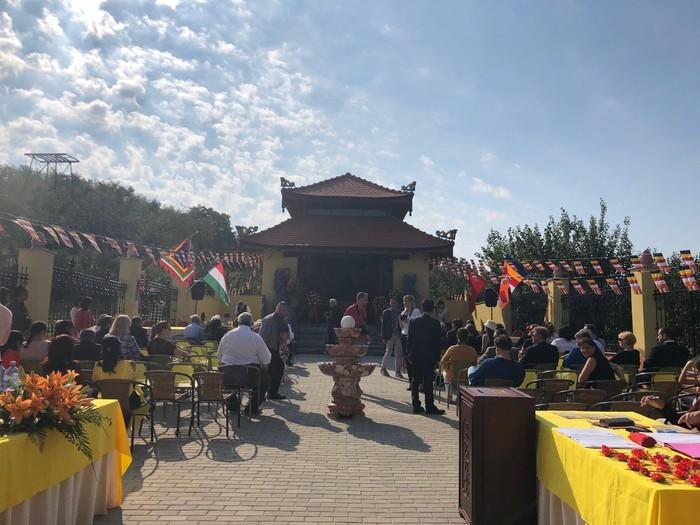 В Венгрии была признана первая пагода Вьетнама - ảnh 1
