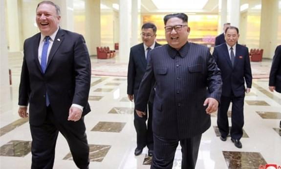 Помпео заявил, что представители США и КНДР встретятся в Вене  - ảnh 1