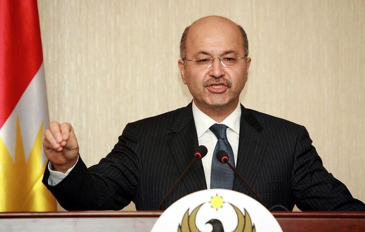 Новым президентом Ирака стал Бархам Салех  - ảnh 1