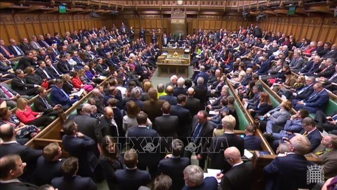 Британская Палата общин одобрила законопроект о переносе «Брексита» - ảnh 1