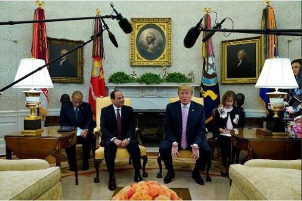 Президенты США и Египта обсудили ситуацию на Ближнем Востоке и водные проблемы - ảnh 1