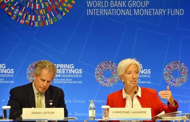 МВФ обязался скоординировать действия во всем мире - ảnh 1