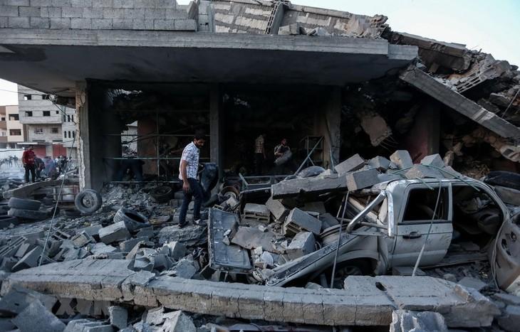 Палестина и Израиль договорились о перемирии  - ảnh 1