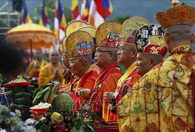 Международные СМИ осветили Великий буддийский праздник ООН – Весак 2019 - ảnh 1