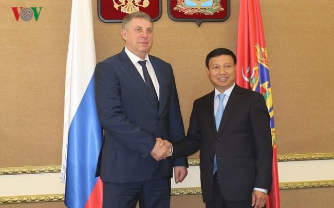 Вьетнам активизирует сотрудничество с Брянской областью - ảnh 1