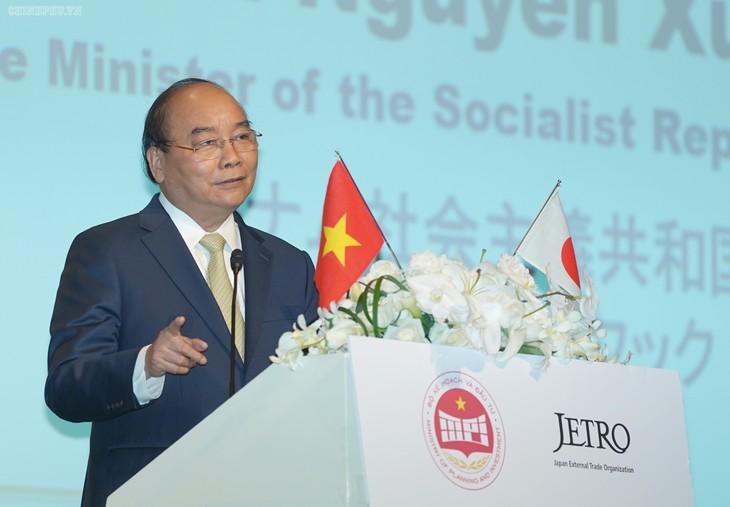 Премьер Вьетнама Нгуен Суан Фук встретился с руководством крупных японских компаний - ảnh 1