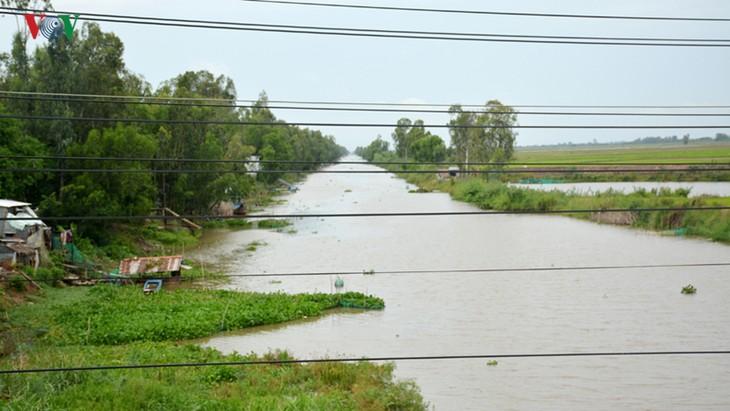 О Шау Зане, который внес вклад в строительство системы водных каналов в четырехугольнике Лонгсуен - ảnh 1