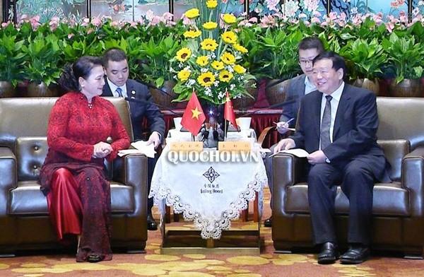 Китайская провинция Цзянсу желает сотрудничать с Вьетнамом - ảnh 1