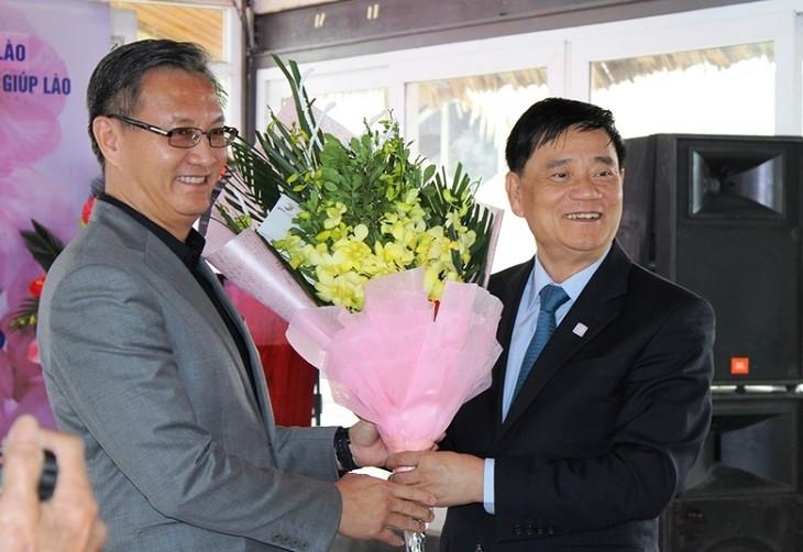 베트남 - 라오스 우정 만남 - ảnh 1