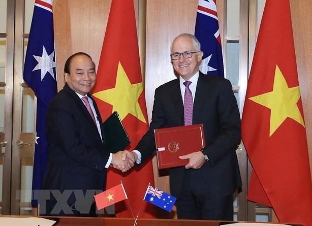응엔 쑤안 푹(Nguyen Xuan Phuc) 국무 총리의 호주 및 뉴질랜드 방문 결과 - ảnh 3