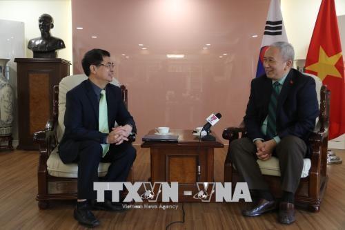 """주한국 베트남 대사: 베·한관계 전망 날로 """"쾌청"""" - ảnh 1"""