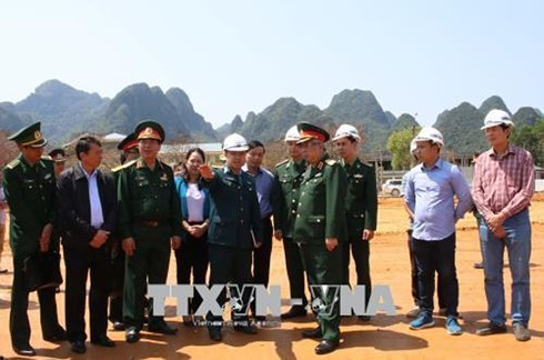 제5차 베트남 – 중국 변경국방친선교류 적극적인 준비 - ảnh 1