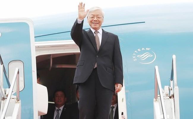 Nguyen Phu Trong 총서기장 프랑스 공화국 공식방문 및 쿠바 공화국 국빈 방문 - ảnh 1