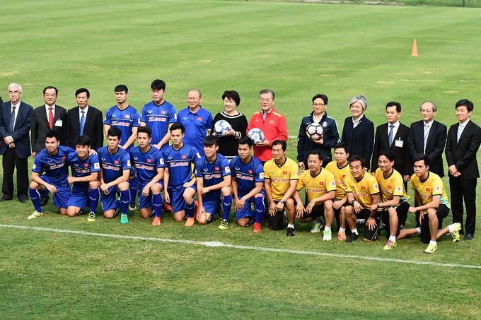 베트남과 한국 협력 ,  양국의 축구 촉진 - ảnh 1