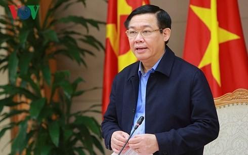 Vuong Dinh Hue부총리: 정부,  2018년 인플레이션 제어 가능 - ảnh 1