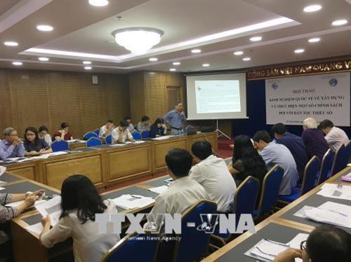 소수 민족 정책 개발 및 실행에 대한 국제 경험 워크숍 - ảnh 1
