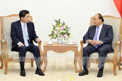 Nguyen Xuan Phuc 국무총리, 이임 한국 대사 접견 - ảnh 1