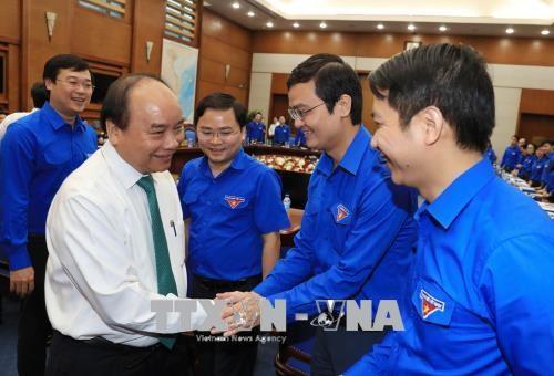 Nguyen Xuan Phuc 총리, Ho Chi Minh 공산청년 중앙단과 회의 - ảnh 1
