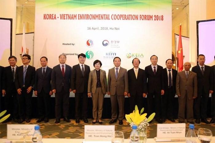 (베트남,FM,한국) 한 – 베 환경에 관한 전략적 협력 촉진 - ảnh 1