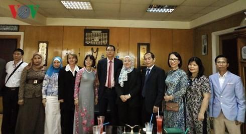 베트남과 이집트의 문화· 음악, 라디오 방송에서 소개 - ảnh 2