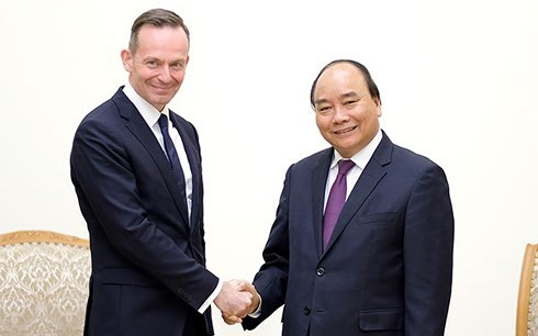베트남 국무총리, 라인란트-팔츠 주 (독일) 경제부 장관 접견 - ảnh 1