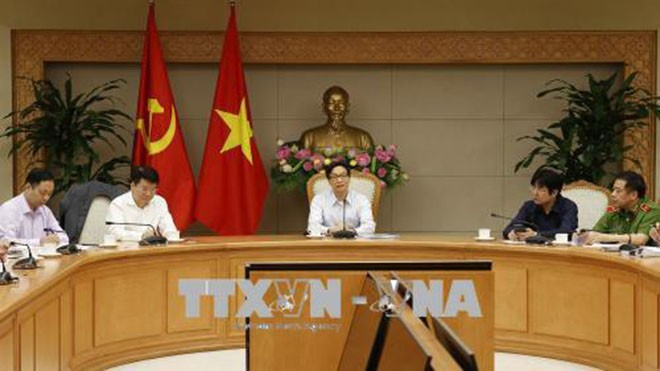 베트남 부총리, 각 부처와 고위공직, 일반 공무원 및 노동계약서에 관한 회의 - ảnh 1