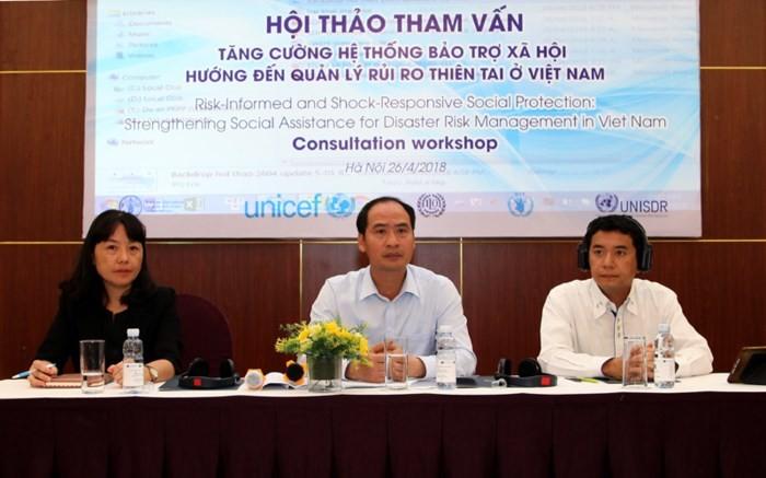 베트남에서 재난관리 사회보호체제 역량구축 - ảnh 1