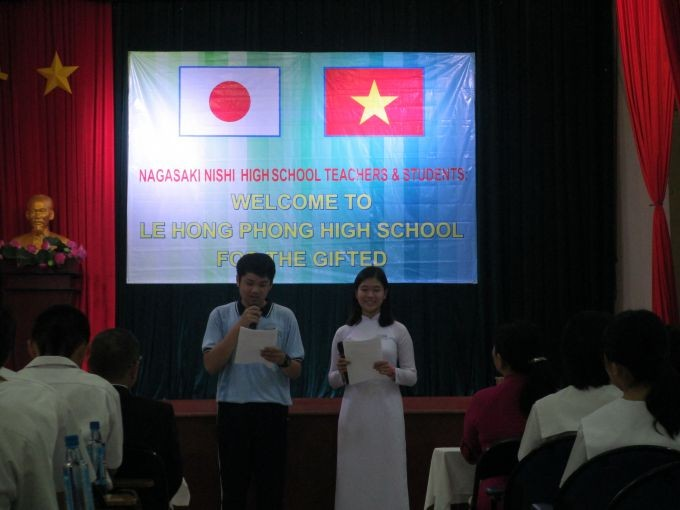 베트남 호치민 시와 일본 나가사키 현의 학생 교류 강화 - ảnh 1