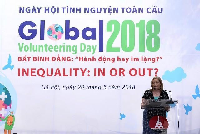 2018년 글로벌 자원봉사의 날 - Global Volunteering Day 2018  - ảnh 1