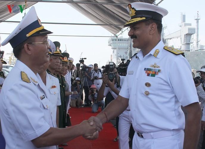 인도 해군 3 척, 다낭 방문 - ảnh 1